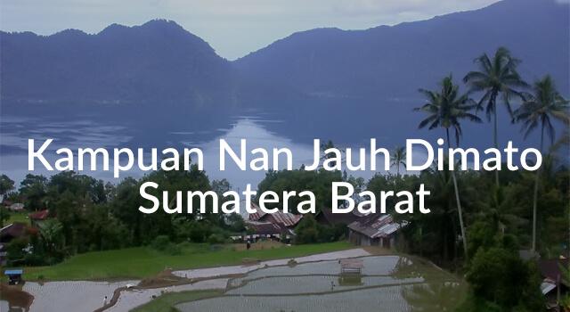 Lirik Lagu Kampuan Nan Jauh Dimato Sumatera Barat - Arti ...