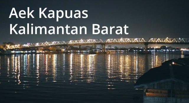 Lirik Lagu Aek Kapuas