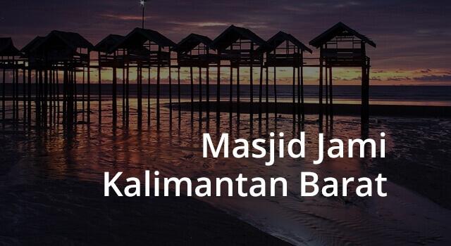 lirik masjid jami