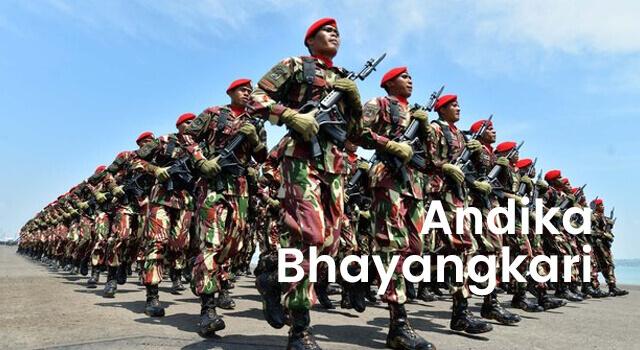 lirik andika bhayangkari