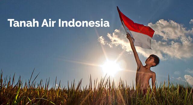 lirik tanah air indonesia