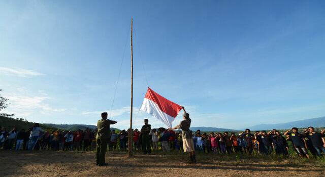 lirik indonesia tetap merdeka