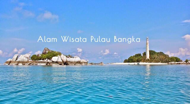 lirik alam wisata pulau bangka