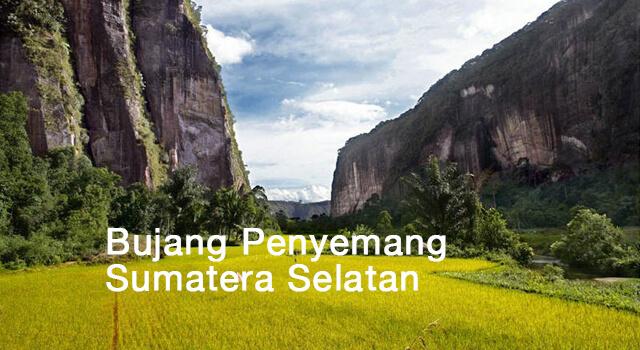 lirik bujang penyemang sumatera selatan