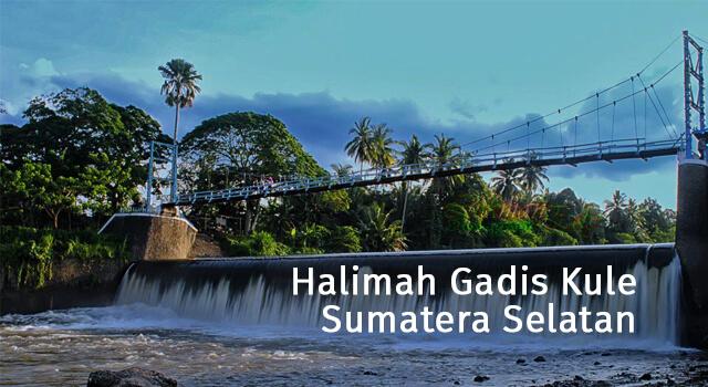 lirik halimah gadis kule sumatera selatan