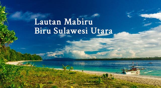 lirik lautan mabiru biru sulawesi utara