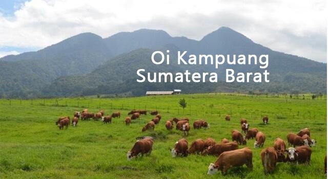 lirik oi kampuang sumatera barat
