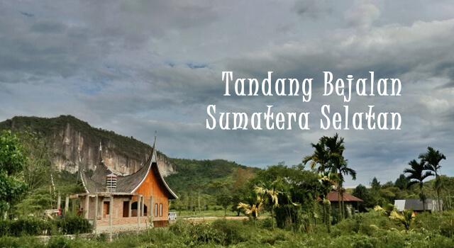 lirik tandang bejalan sumatera selatan