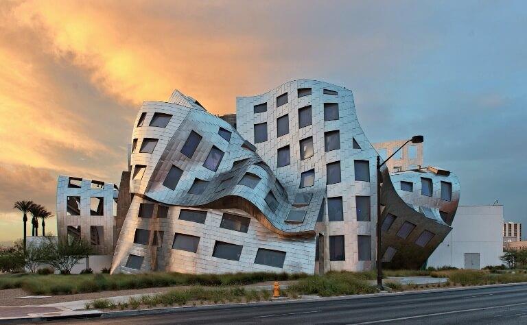 arsitektur penyok Lou Ruvo Center For Brain Health
