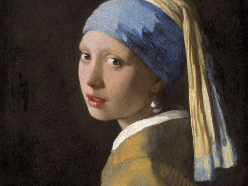 "Lukisan ""Girl with a Pearl Earring"""