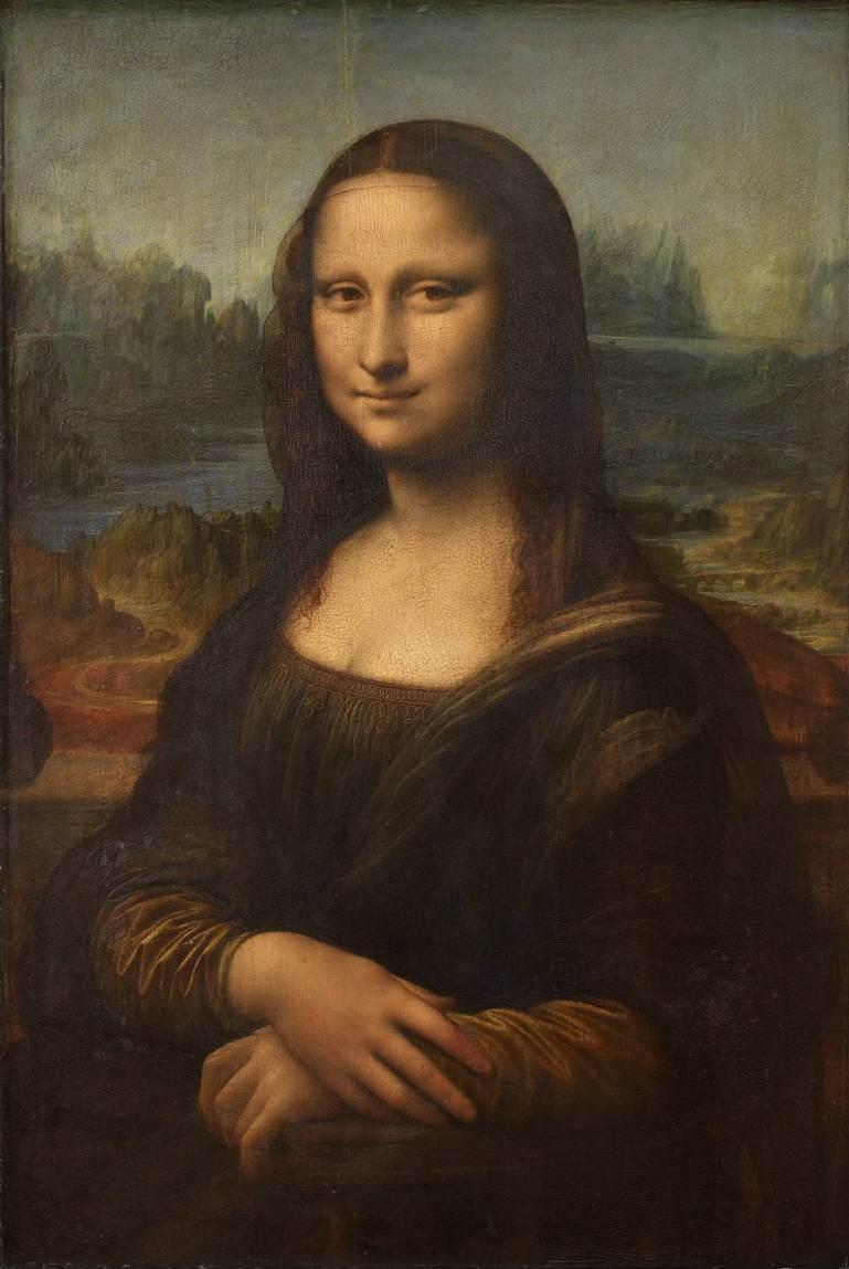 """Lukisan """"Mona Lisa"""""""