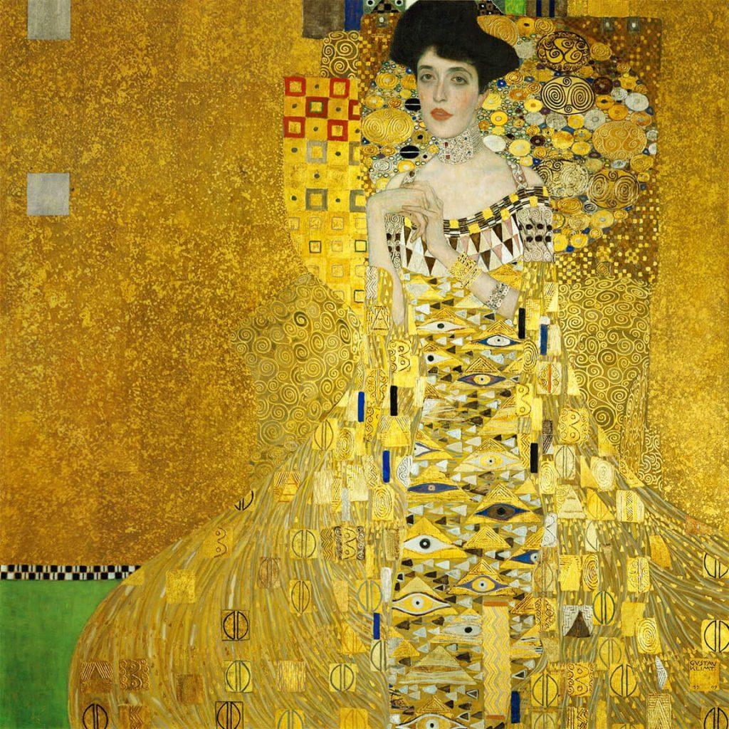 """Lukisan """"Portrait of Adele Bloch-Bauer"""""""