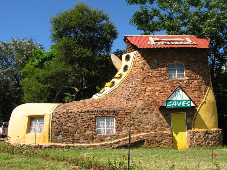 Shoe House, Afrika Selatan