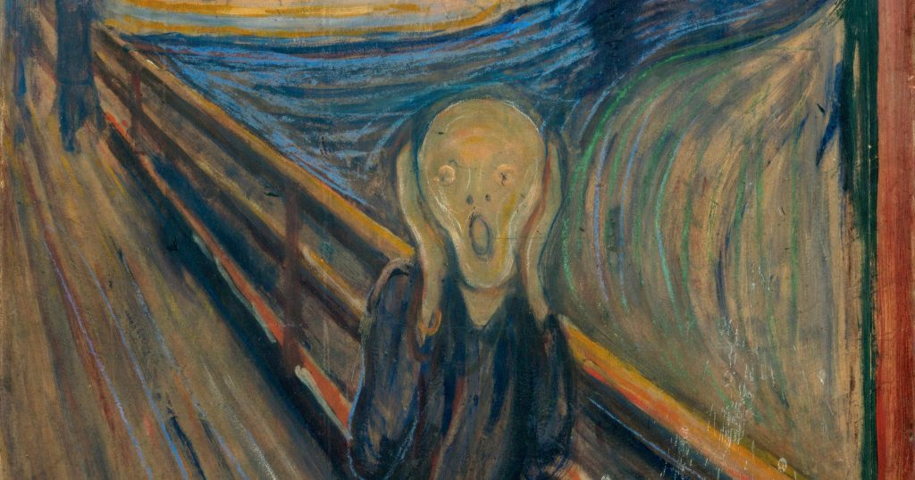 "Lukisan ""The Scream"""