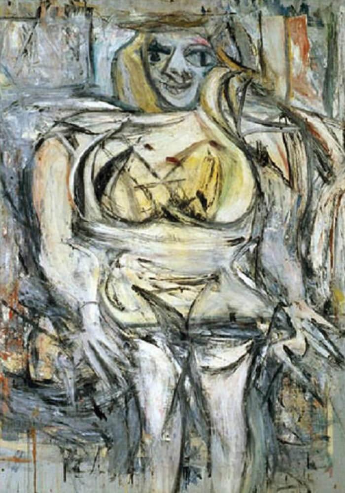 """Lukisan """"Woman III"""""""